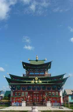 Buddhist Temple, Ulan-Ude