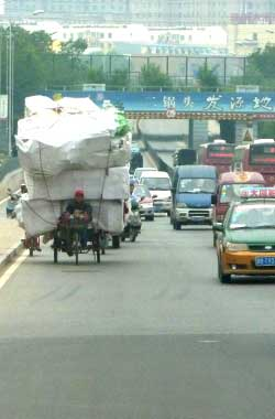 Delivery man, China