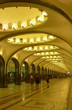 Subway, Moscow