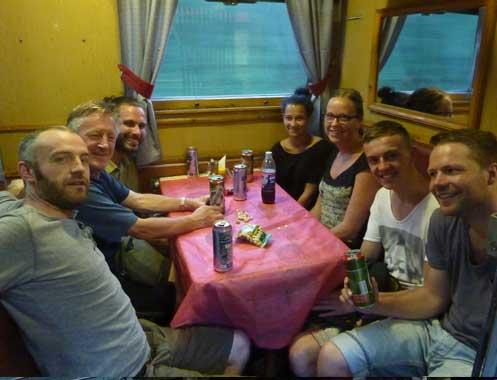 With Bob, Guillaume, Louise, Carolina, Niek and Tim